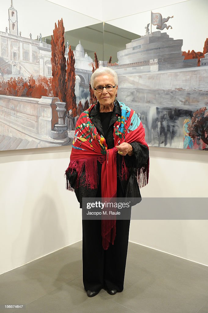 Rosita Missoni attends the closing drinks at the Gagosian Gallery during the third day of the 2012 International Herald Tribune's Luxury Business Conference held at Rome Cavalieri on November 16, 2012 in Rome, Italy. The 12th annual IHT Luxury conference is the premier meeting point for the luxury industry. 500 delegates from 30 countries have gathered in Rome to hear from the world's most inspirational fashion designers and luxury business leaders.