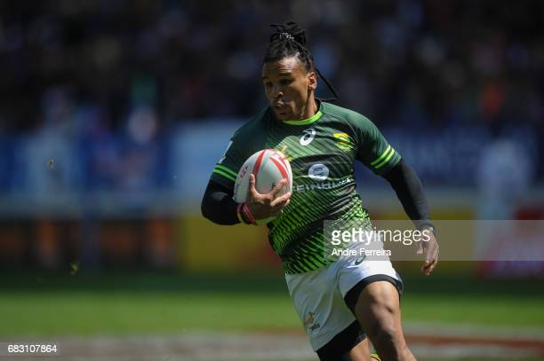 Rosko Specman of South Africa during the match between South Africa and New Zealand at the HSBC Paris Sevens stage of the Rugby Sevens World Series...