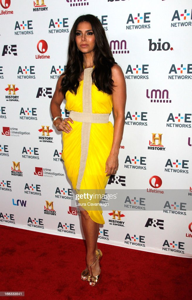 Roslyn Sanchez attends A&E Networks 2013 Upfront at Lincoln Center on May 8, 2013 in New York City.