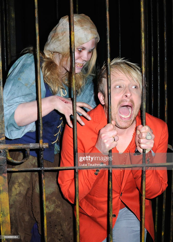 <a gi-track='captionPersonalityLinkClicked' href=/galleries/search?phrase=Ross+Antony&family=editorial&specificpeople=4895372 ng-click='$event.stopPropagation()'>Ross Antony</a> attends the opening of the Berlin Dungeon near Hackescher Markt in Berlin on March 14, 2013 in Berlin, Germany.