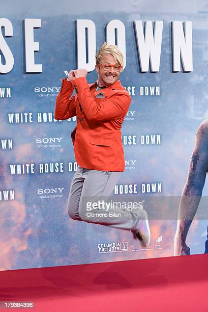 Ross Antony attends the 'White House Down' Germany premiere at CineStar on September 2 2013 in Berlin Germany