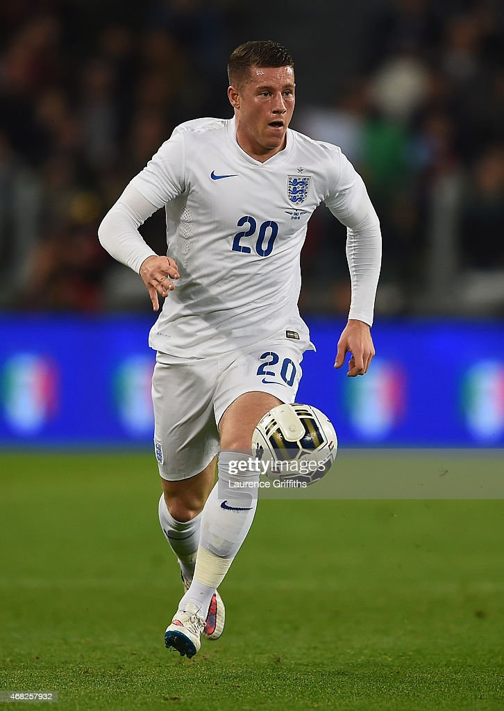 Ross Barkley of England in action during the International Friendly match between Italy and England at Juventus Stadium on March 31 2015 in Turin...