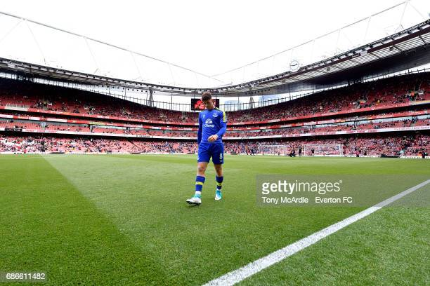 Ross Barkley of Everton before the Premier League match between Arsenal v Everton at Emirates Stadium on May 21 2017 in London England