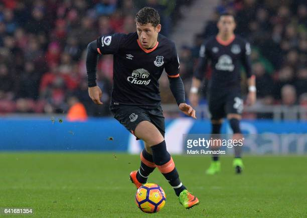 Ross Barkley of Everton in action during the Premier League match between Middlesbrough and Everton at Riverside Stadium on February 11 2017 in...