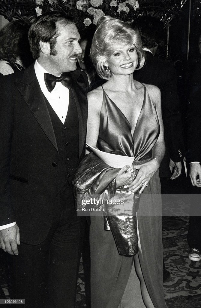 Ross Bickell and Loni Anderson during 37th Annual Golden Globe Awards at Beverly Hilton Hotel in Beverly Hills, California, United States.