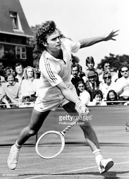 Ross Case of Australia in action during the Wimbledon Championships held at the All England Lawn Tennis and Croquet Club in Wimbledon London circa...