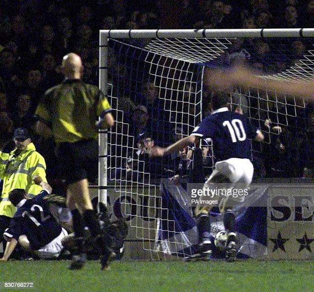 Ross County's Steve Mackay during the CIS Insurance Cup Quarterfinal game between Ross County and Rangers at Victoria Park Dingwall Scotland