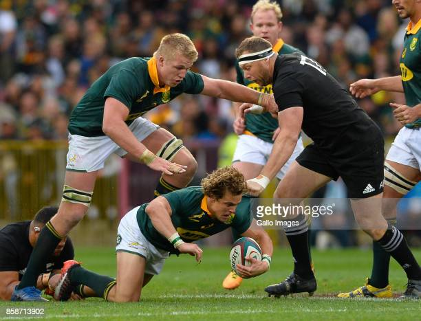 Ross Cronje of South Africa during the Rugby Championship 2017 match between South Africa and New Zealand at DHL Newlands on October 07 2017 in Cape...