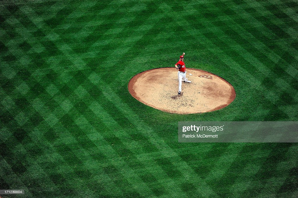<a gi-track='captionPersonalityLinkClicked' href=/galleries/search?phrase=Ross+Detwiler&family=editorial&specificpeople=4329174 ng-click='$event.stopPropagation()'>Ross Detwiler</a> #48 of the Washington Nationals throws a pitch in the third inning during a game against the Colorado Rockies at Nationals Park on June 23, 2013 in Washington, DC.