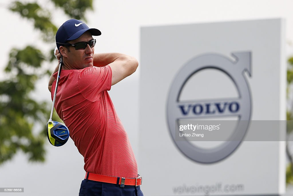 <a gi-track='captionPersonalityLinkClicked' href=/galleries/search?phrase=Ross+Fisher&family=editorial&specificpeople=541078 ng-click='$event.stopPropagation()'>Ross Fisher</a> of England plays a shot during the final round of the Volvo China open at Topwin Golf and Country Club on May 1, 2016 in Beijing, China.