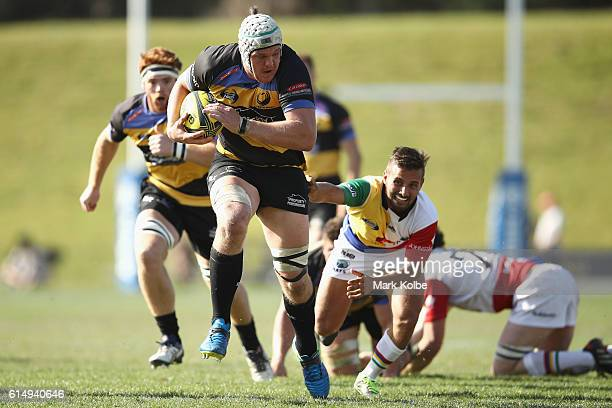 Ross HaylettPetty of the Spirit makes a break during the NRC Semi Final match between the Sydney Rays and Perth Spirit at Pittwater Park on October...