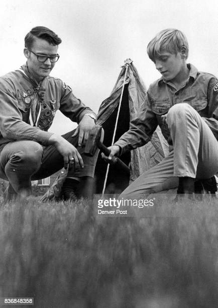Ross Kershaw left son of Mr and Mrs Leon Kershaw shares tenting fun with his IFTF 'brother' Don Prentice 12 Prentice is a son of Mrs Virgil...