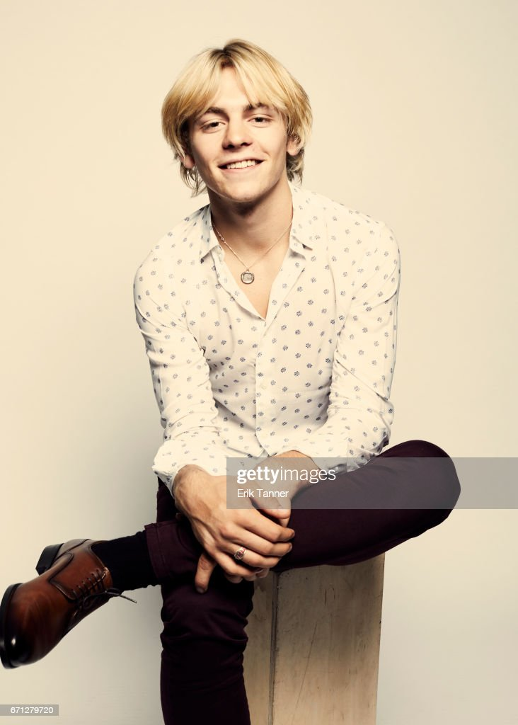 Ross Lynch from 'My Friend Dahmer' poses at the 2017 Tribeca Film Festival portrait studio on April 21, 2017 in New York City.