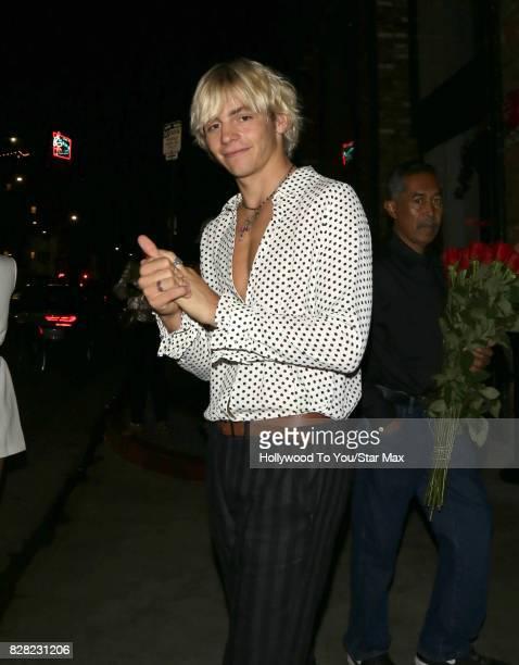 Ross Lynch is seen on August 8 2017 in Los Angeles CA