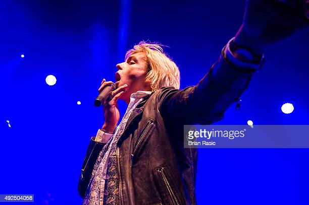 Ross Lynch of R5 performs at O2 Shepherd's Bush Empire on October 13 2015 in London England