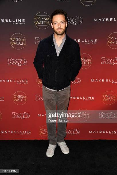 Ross Marquand attends People's 'Ones To Watch' at NeueHouse Hollywood on October 4 2017 in Los Angeles California