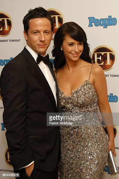 Ross McCall and Jennifer Love Hewitt attend Entertainment Tonight and People Magazine Hosts Annual Emmy After Party at Mondrian on August 27 2006