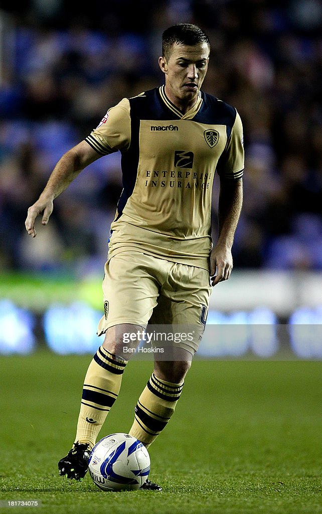 Ross McCormack of Leeds in action during the Sky Bet Championship match between Reading and Leeds United at Madejski Stadium on September 18, 2013 in Reading, England.