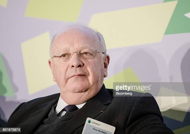 Ross McInnes chairman of Safran SA looks on during the Euronext NV annual news conference in Paris France on Tuesday Jan 17 2017 New York may beat...