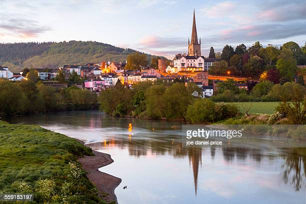 Ross on Wye, River Wye, Herefordshire, England