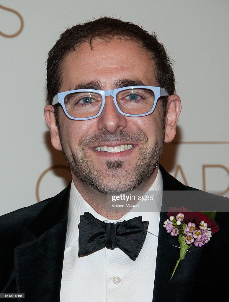 Ross Shain arrives at the Academy Of Motion Picture Arts And Sciences' Scientific & Technical Awards at Beverly Hills Hotel on February 9, 2013 in Beverly Hills, California.