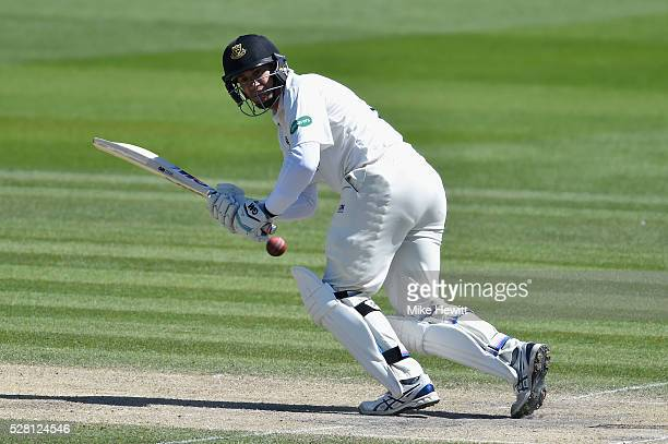 Ross Taylor of Sussex in action during the fourth day of the Specsavers County Championship Division Two match between Sussex and Leicestershire on...