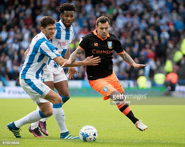 Ross Wallace of Sheffield Wednesday in action during the Sky Bet Championship match between Huddersfield Town and Sheffield Wednesday at John Smith's...