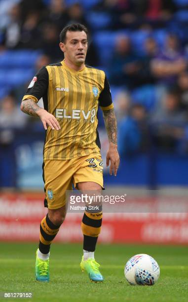 Ross Wallace of Sheffield Wednesday in action during the Sky Bet Championship match between Bolton Wanderers and Sheffield Wednesday at Macron...