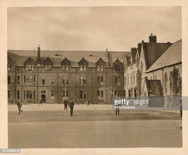 Rossall School' 1923 Rossall School fee paying private school in Fleetwood Lancashire founded in 1844 by St Vincent Beechey and qualified under the...