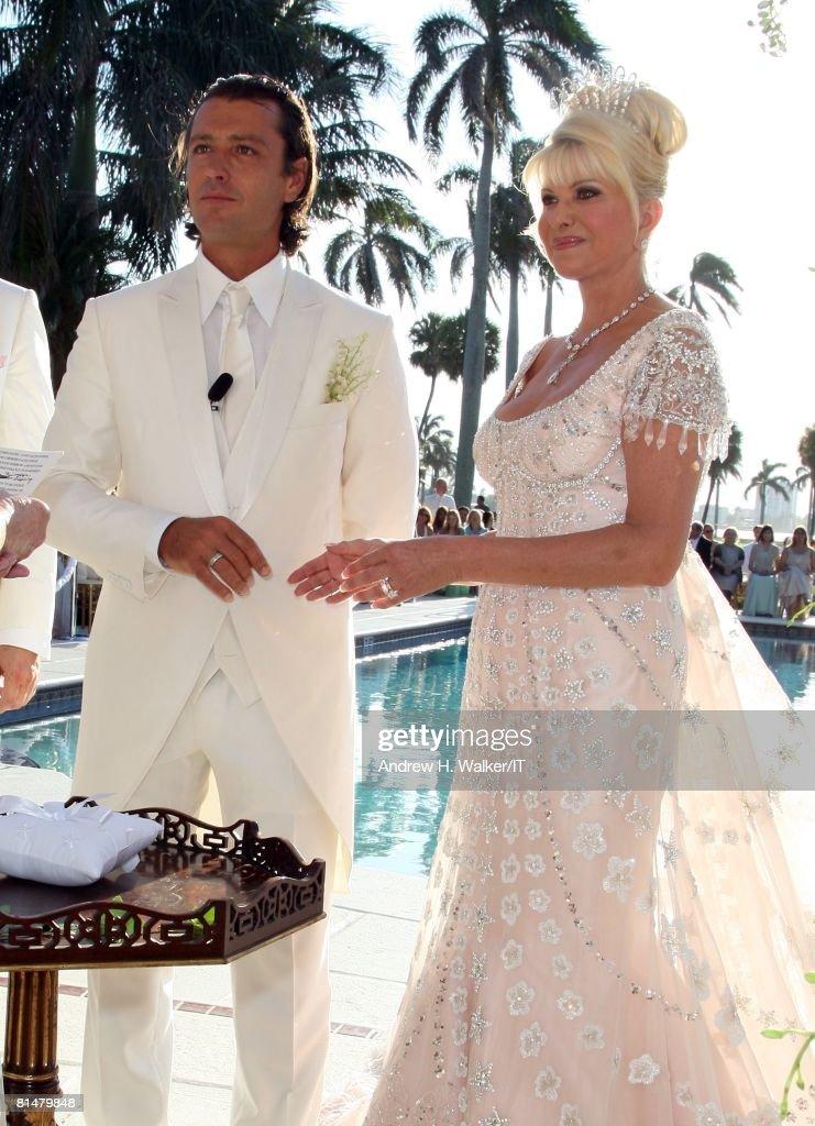 Ivana Trump And Rossano Rubicondi Wedding At Mar-a-lago ...