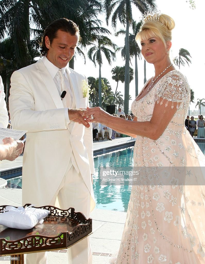 Ivana Trump And Rossano Rubicondi Wedding At Mar-a-lago ...