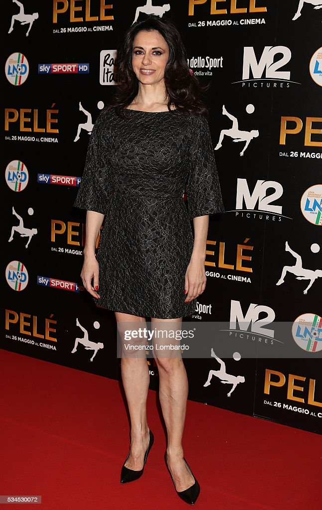 Rossella Brescia attends the 'Pele' Red Carpet In Milan on May 26, 2016 in Milan, Italy.