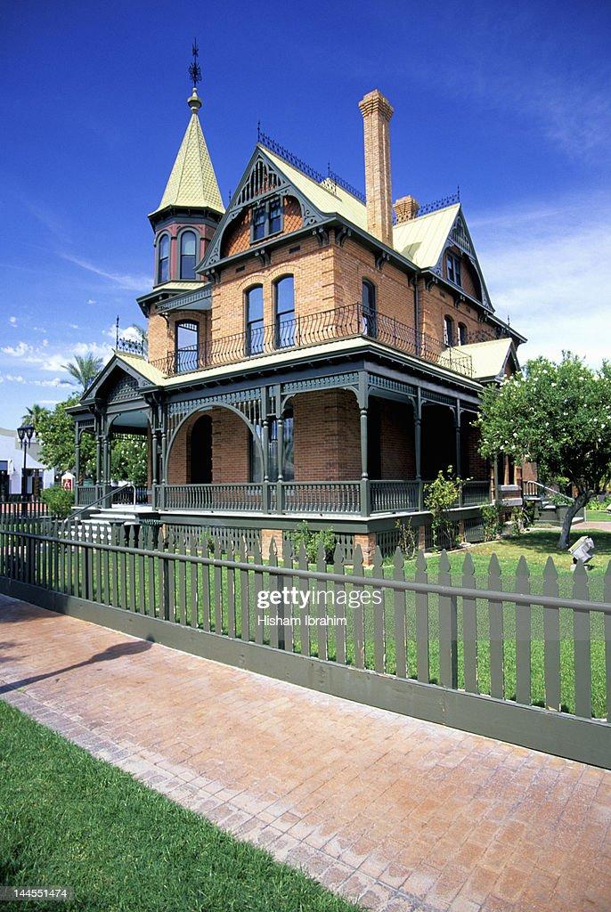 Rosson House, Heritage Square, Phoenix, Arizona