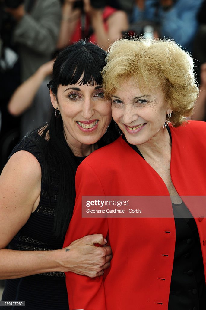 Rossy De Palma and Maria Luisa Paredes at the Photocall for 'Homage To The Spanish Cinema' during the 63rd Cannes International Film Festival