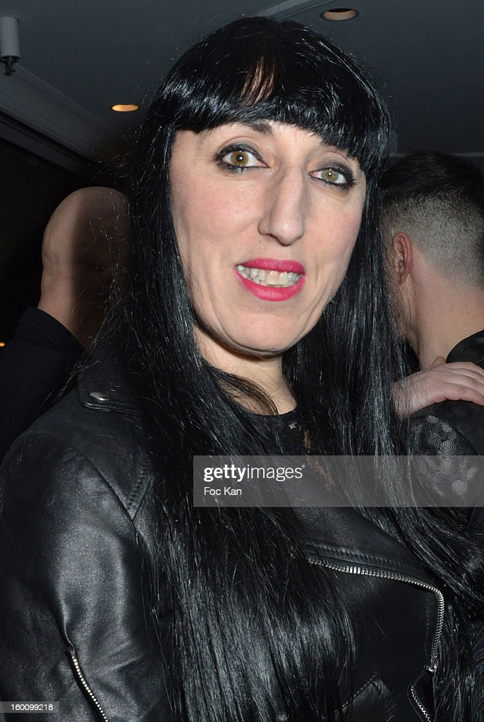 Rossy de Palma attends the 'Body Double' Ali Mahdavi Exhibition Preview Cocktail At Hotel W on January 25, 2013 in Paris, France.