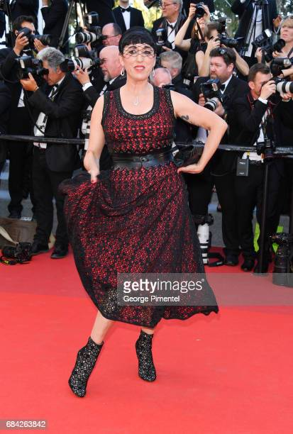 Rossy De Palma attends the 'Ismael's Ghosts ' screening and Opening Gala during the 70th annual Cannes Film Festival at Palais des Festivals on May...