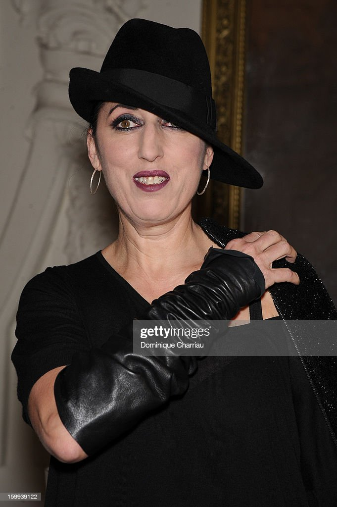 Rossy de Palma attends the Jean-Paul Gaultier Spring/Summer 2013 Haute-Couture show as part of Paris Fashion Week at on January 23, 2013 in Paris, France.
