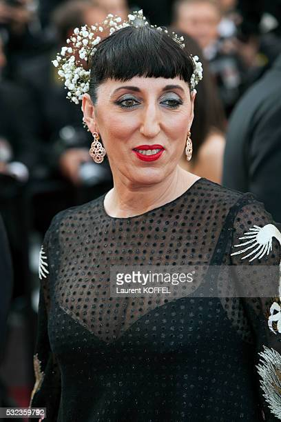 Rossy De Palma attends the 'Loving' red carpet arrivals during the 69th annual Cannes Film Festival at the Palais des Festivals on May 16 2016 in...