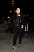 Saint Laurent : Front Row -  Paris Fashion Week -...