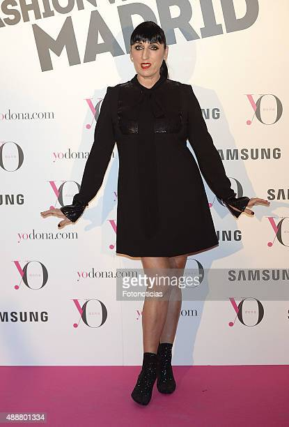 Rossy de Palma attends the 'Yo Dona' Party at the NH Collection Eurobuilding Hotel on September 17 2015 in Madrid Spain