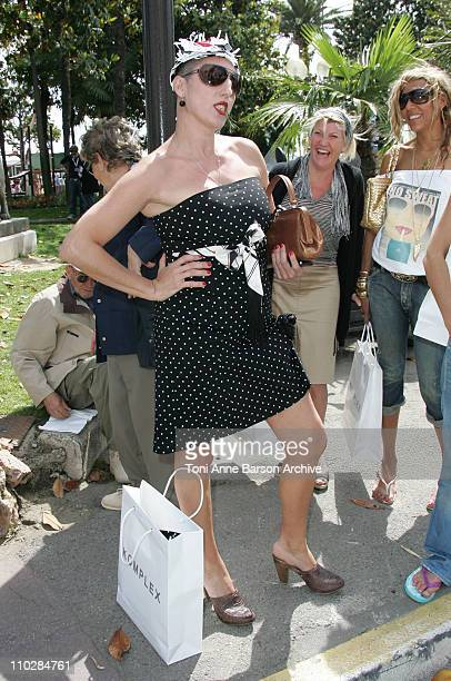 Rossy De Palma during 2006 Cannes Film Festival Seen Around Cannes Day 6 at Varoius in Cannes France