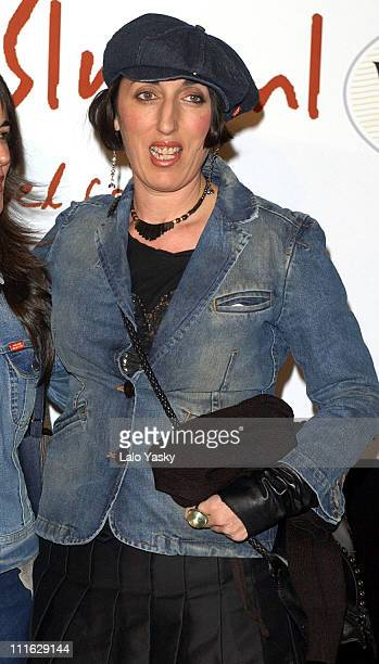 Rossy de Palma during 'My Life Without Me' Premiere Madrid at Palacio de la Musica Cinema in Madrid Spain