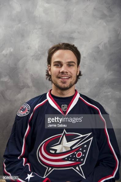 Rostislav Klesla of the Columbus Blue Jackets poses for his official headshot for the 20092010 NHL season