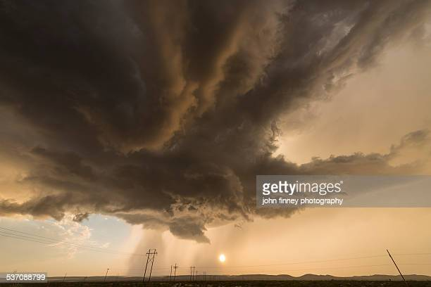 Roswell Storm clouds over New Mexico