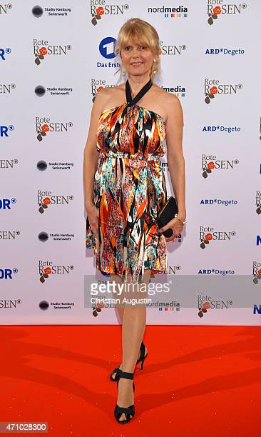 Roswitha Schreiner attends the celebration of 2000 episodes of 'Rote Rosen' at Ritterakademie on April 24 2015 in Lueneburg Germany