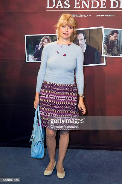 Roswitha Schreiner attends the 'Das Ende der Geduld' Preview on November 12 2014 in Berlin Germany