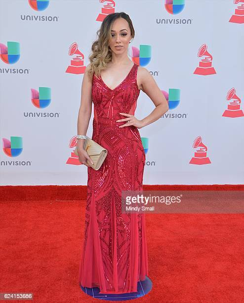 Rosy McMichael attends the 17th Annual Latin Grammy Awards at TMobile Arena on November 17 2016 in Las Vegas Nevada