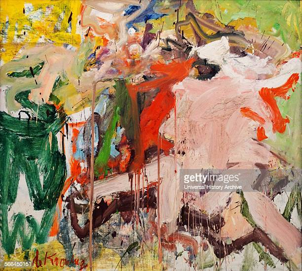 RosyFingered Dawn at Louise Point by Willem De Kooning a Dutch American abstract expressionist artist who was born in Rotterdam the Netherlands