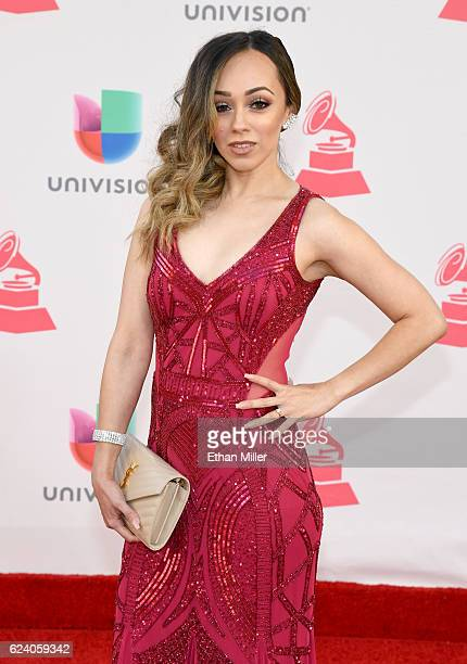RosyMcMichael attends The 17th Annual Latin Grammy Awards at TMobile Arena on November 17 2016 in Las Vegas Nevada
