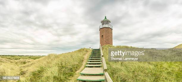 Rotes Kliff Lighthouse, Kampen, Sylt, Schleswig-Holstein, Germany